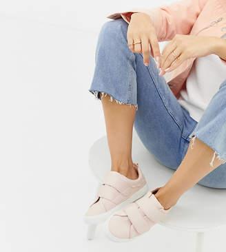 Asos DESIGN Wide Fit Vitamin strap sneakers
