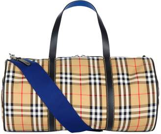 Burberry Vintage Check Barrel Bag