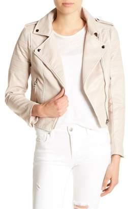 Joe's Jeans Sierra Faux Leather Moto Jacket