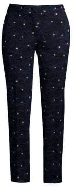 Escada Talass Starry Night Ankle Pants