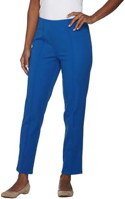Isaac Mizrahi Live! Tall 24/7 Stretch Ankle Pants w/ Seam Detail