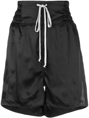Rick Owens high rise shorts