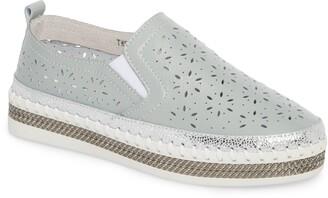 Bernie Mev. Perforated Slip-On Sneaker