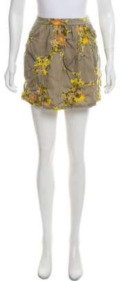 Ulla Johnson Wool Mini Skirt