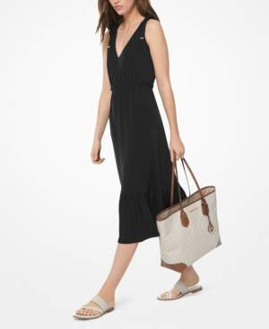 Michael Kors Michael Tie-Shoulder Midi Dress, Regular & Petite
