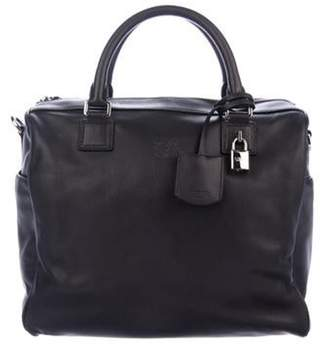 Loewe Leather Satchel Black Leather Satchel