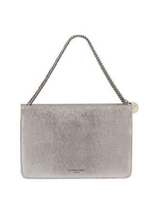 Givenchy Cross 3 Metallic Leather & Suede Crossbody Bag