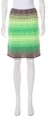 Missoni Knit Mini Skirt