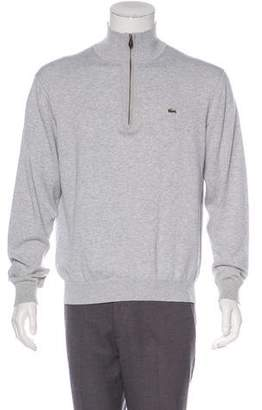 Lacoste Knit Half-Zip Sweater