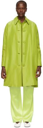 Mansur Gavriel Green Elegant Coat