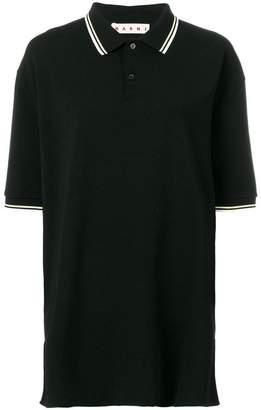 Marni oversized polo shirt