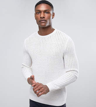 Asos TALL Textured Sweater in Cream