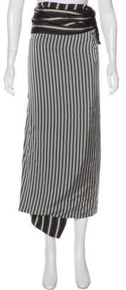 Joseph Striped Maxi Skirt