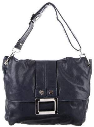 Roger Vivier Leather Messenger Bag