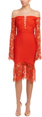 Wow Couture Midi Dress