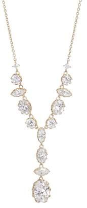 Nadri Georgian Crystal Y-Necklace