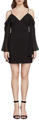 BCBGMAXAZRIA Pamela Cold-Shoulder Sheath Dress