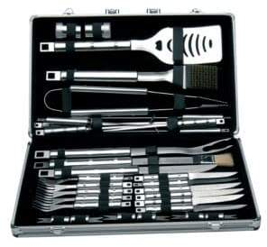 Berghoff Cubo 33-Piece Barbecue Set In Case