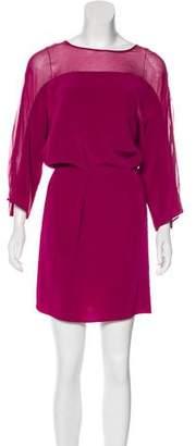 Elizabeth and James Dolman Sleeve Mini Dress