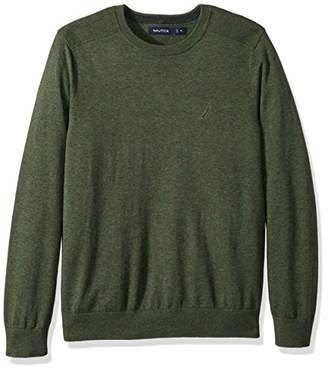 Nautica Men's Crew Neck Lightweight Sweater