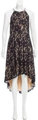 Aidan Mattox Lace Midi Dress w/ Tags