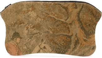 Aganovich tapestry clutch