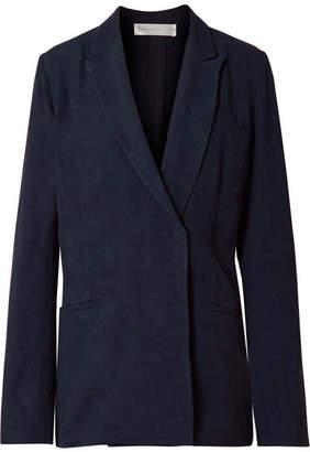 Victoria Beckham Victoria, Oversized Jacquard Blazer - Midnight blue