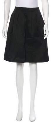 MICHAEL Michael Kors Pleated Knee-Length Skirt