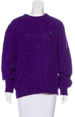 Polo Ralph Lauren Wool Crew Neck Sweater