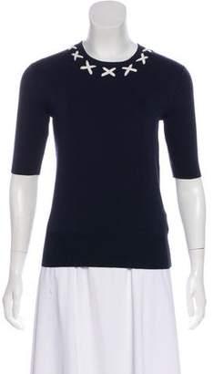 Tory Sport Short Sleeve Sweater