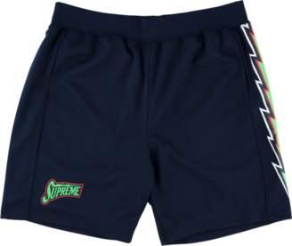 Supreme Bolt Basketball Shorts - 'SS 18' - Navy