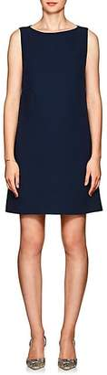 Lisa Perry Women's Bubbles Wool Crepe A-Line Dress - Navy