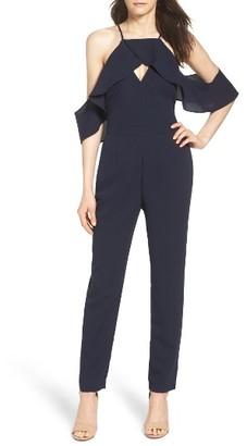 Women's Adelyn Rae Cold Shoulder Jumpsuit $98 thestylecure.com