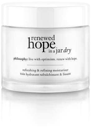 philosophy Renewed Hope In A Jar Dry Refreshing Refining Moisturizer For Dry Skin