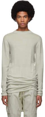 Rick Owens Grey Level Lupetto Sweater