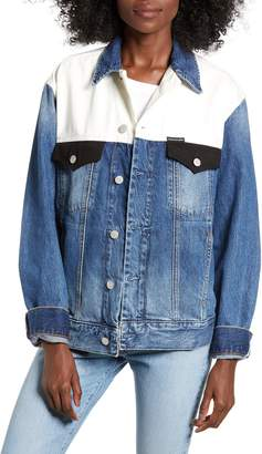 Calvin Klein Jeans Colorblock Trucker Jacket