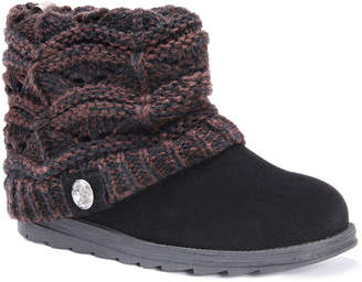 Muk Luks Womens Poala Winter Boots Water Resistant Slip-on