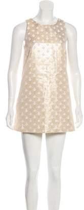 Alice + Olivia Patterned Mini Dress