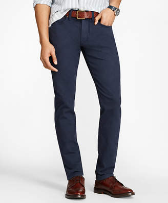 Brooks Brothers Slim-Fit Garment-Dyed Jeans
