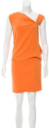 Vionnet Sleeveless Mini Dress