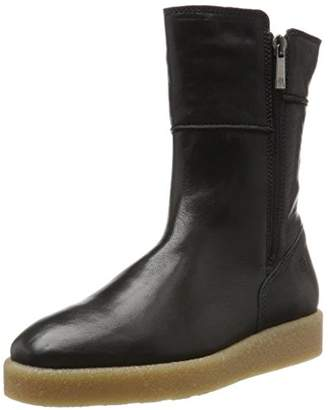 Marc O'Polo Flat Heel Bootie 70914296001127, Women's Slouch Boots Slouch Boots,(37 EU)