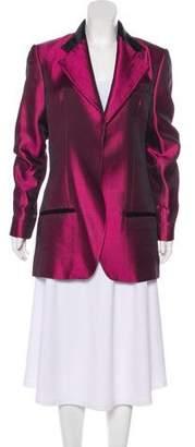 Haider Ackermann Oversize Silk Blazer