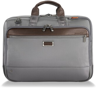 a83f4b4d5bd3 Briggs & Riley @work Large Expandable Ballistic Nylon Laptop Briefcase with  RFID Pocket