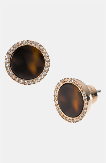 MICHAEL Michael Kors Michael Kors 'Brilliance' Stud Earrings Rose Gold