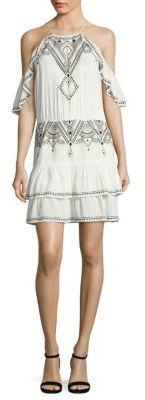 Parker Tuscany Cold Shoulder Dress $285 thestylecure.com