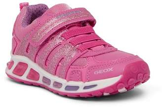 Geox Shuttle Glitter Light-Up Sneaker (Little Kid & Big Kid)