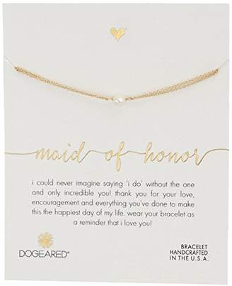Dogeared Maid of Honor
