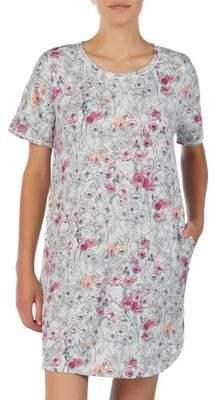 Kensie Floral-Print Sleepshirt