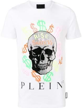Philipp Plein Skull Grafitti T-shirt