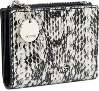 Nine West Slim Wallet with Zipper